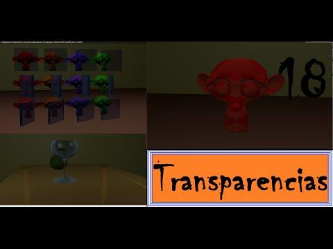 Curso de blender - lecc18 - Materiales II (Transparencias)