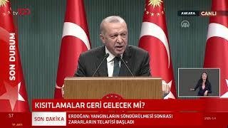 Cumhurbaşkanı Erdoğan kabine toplantısı sonrası açıklamalarda bulunuyor - #CANLI