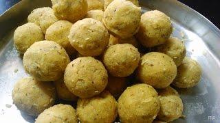 Hurigadale Tambittu ಹುರಿಗಡಲೆ ತಂಬಿಟ್ಟು  Fried Gram Ladoo