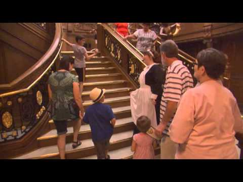 2013 Titanic Pigeon Forge Crew Video