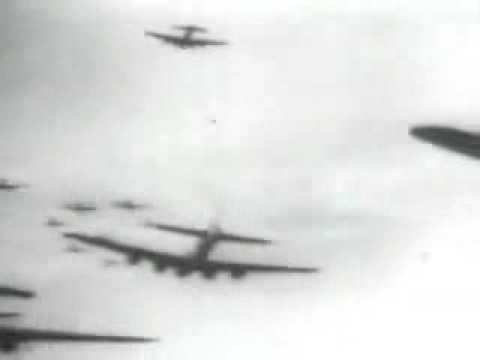Me-262s Shooting down B-17s