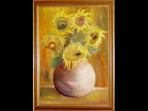 Malarstwo Olejne Lucyna Pawlak - Pejzaże I Kwiaty