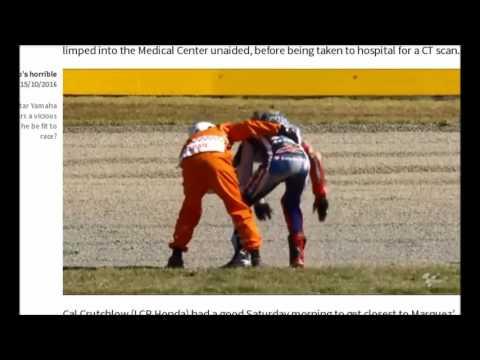 Jorge lorenzo Crash in turn 2 FP3 motegi circuit