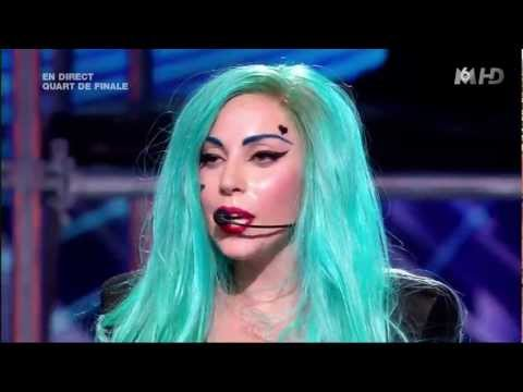 Lady Gaga - The Edge of Glory / Judas X FACTOR France Music Videos