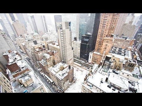 Как в Нью-Йорк пришел арктический холод
