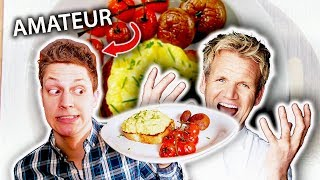 Amateur Attempts Gordon Ramsay's Scrambled Eggs Challenge