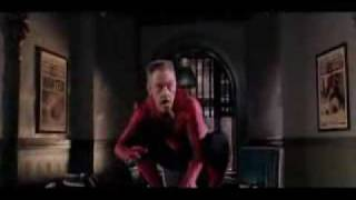 Spiderman 2 -- J.J. Jameson Wearing Spiderman Suit