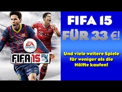 FIFA 15 FÜR 33 €!!   VIELE SPIELE SEHR BILLIG KAUFEN!!!