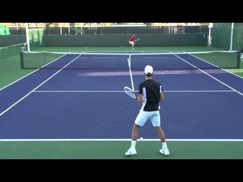 Большой теннис. Уроки.Техника ударов. Тренировка.