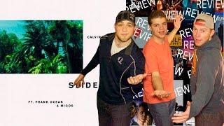 """""""SLIDE"""" CALVIN HARRIS FEAT. FRANK OCEAN & MIGOS - Reaction/Review"""
