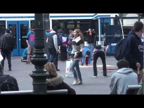 iPhone 5: Super Glued to Ground in Amsterdam (Leidseplein)