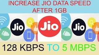 hack jio data speed after 1gb 100 % working