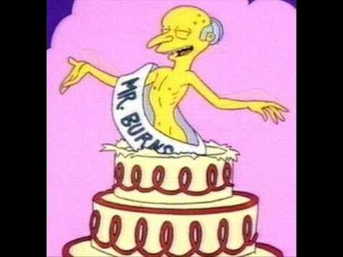 The Simpsons - Senor Burns
