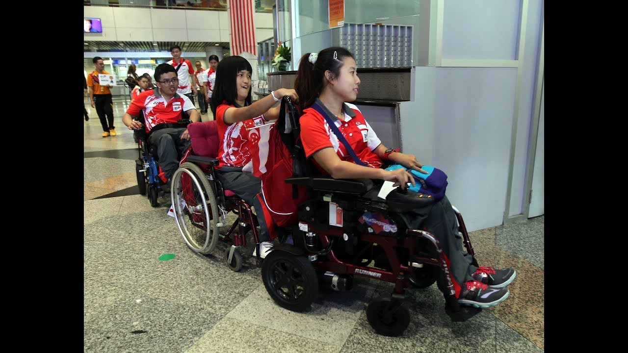 Athletes arrive in KL for 9th Asean Para Games