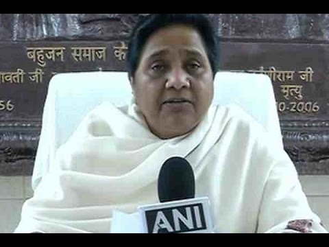 Akhilesh Yadav should've visited accident spot instead of speaking in Lucknow: Mayawati