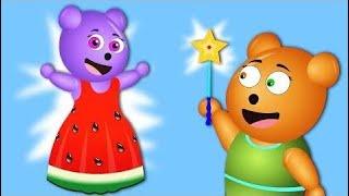 Gummy Bear Adventures | Baby wears watermelon dress 💗 Children's Cartoons & Nursery Rhymes for Kids
