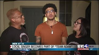 """Local singer becomes part of """"Team Adam"""" on NBC's """"The Voice"""""""