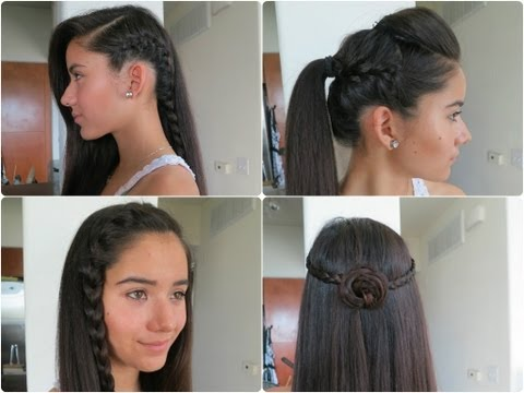 5 Easy Braided Hairstyles for Summer 2013 !!!!
