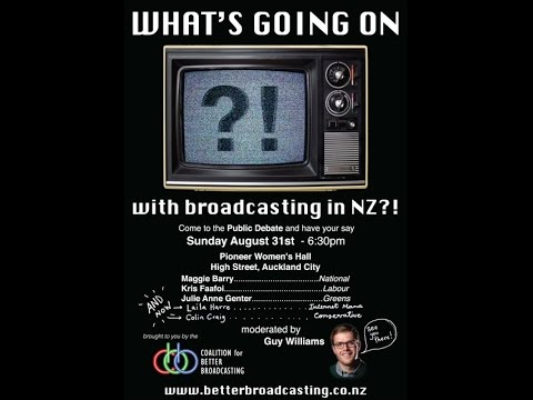 Auckland Broadcasting Debate 2014