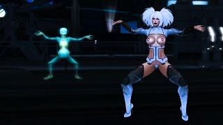 Isabelle Cheren and Jackson Redstar Dancing in INSILICO