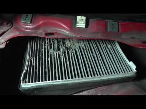 Ford Escape. Mazda Tribute - Cabin Air Filter Replacement