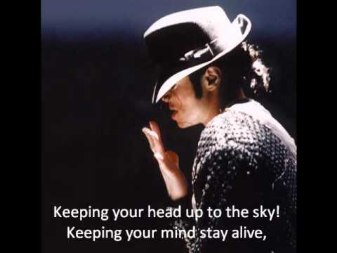 Michael Jackson - Keep your head up Lyrics