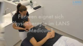Physiotherapie im LANS Medicum