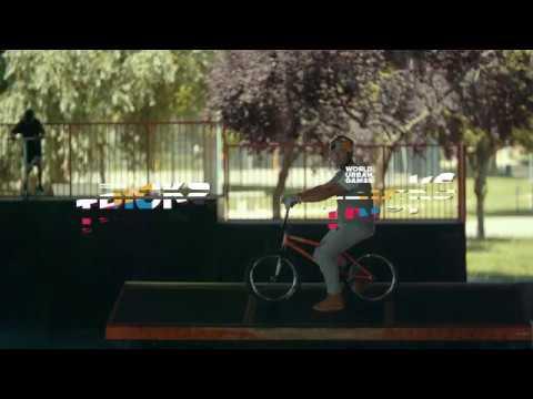 World Urban Games Budapest | Senad Grosic BMX - Trükkök/Tricks