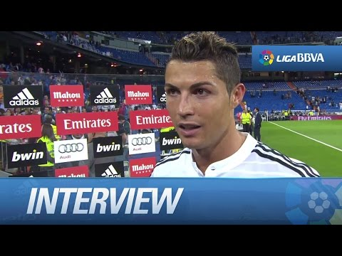 Interview Cristiano Ronaldo after Real Madrid (5-1) Elche CF - HD