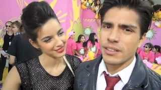 Interviews with Maria Gabriela de Faria and Reinaldo Zavarce Kids Choice Awards 2013 KCA