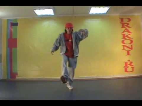 Обучающее видео hip-hop (хип-хоп): back jump
