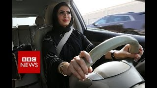 Saudi Arabia's ban on women driving officially ends - BBC News