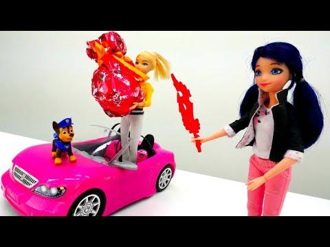 Мультики с куклами Леди Баг: подарок для Эдриана