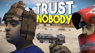 Trust NO ONE in Rust (Spicy betrayal)