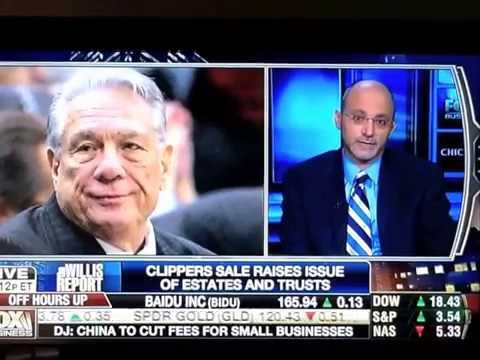 Stuart Kohn Appears on Fox Business to Discuss Donald Sterling Controversy