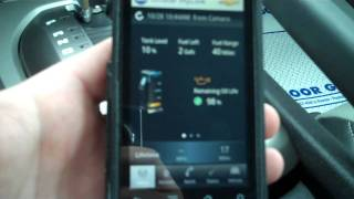How to use OnStar Mobile App (Remote Link Application)