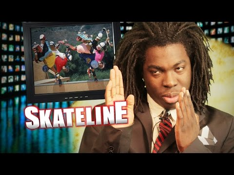 SKATELINE - Evan Smith, Jaws, Animal Chin Ramp, Tony Hawk, Daniel Lutheran & More