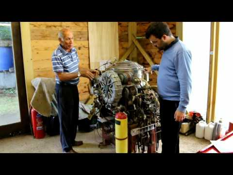 United Stirling P40 Stirling Engine. 40Kw Output
