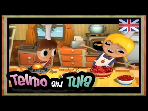 Telmo and Tula - Fruit Salad - healthy recipes, children's cartoons