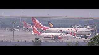 Mumbai International Airport - 20 Beautiful Aircrafts Spotted in 5 Mins Flat !!!