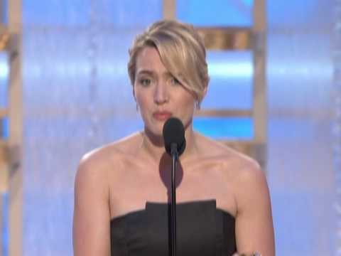 Kate Winslet: Golden Globe speech