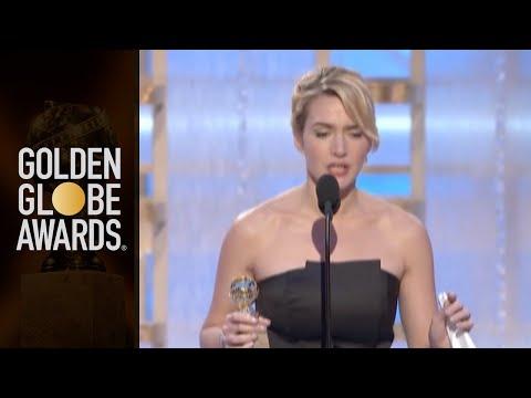 Kate Winslet: Golden Globe speech