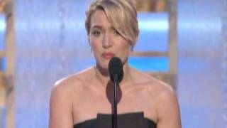 Kate Winslet Wins Best Actress Motion Picture Drama - Golden Globes 2009