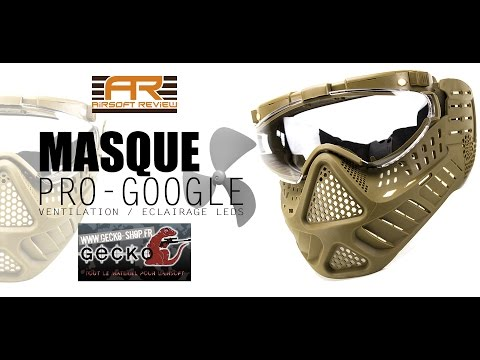 MASQUE ST11 PRO-GOOGLE # GECKO-SHOP # AIRSOFT REVIEW