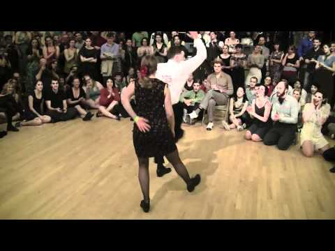 2012 Camp Jitterbug - Lindy Hop Couples Finals - Jam klip izle