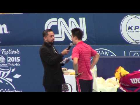 Kei Nishikori post-match interview - 2014 Malaysian Open semifinals - Meniscus Magazine