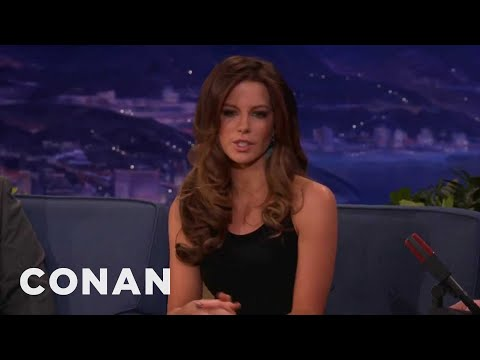"Kate Beckinsale On ""Underworld"" Suit, Acting For Swedes - Conan on TBS"
