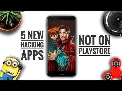 5 NEW HACKING APPS Not On Play Store - No Root 2018