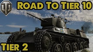 Swedish Heavies - Tier 2 - Road To Tier 10 - WoT Console