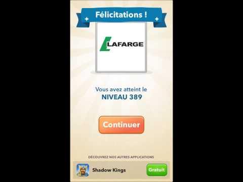Solutions Logo Quiz - Marques françaises niveaux 381 à 400